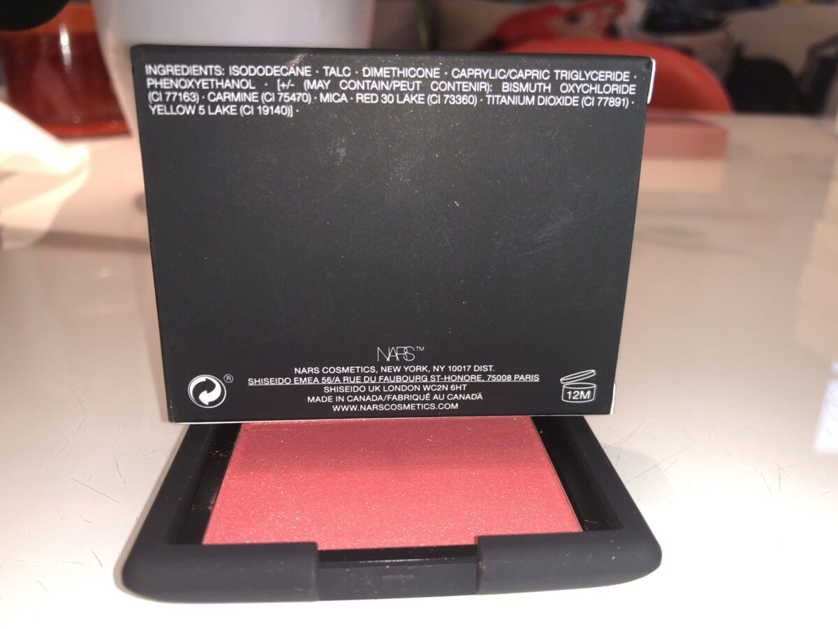 ORGASM X INGREDIENTS ONE OF THE NARS ICONIC BLUSH TEN NEW COLORS