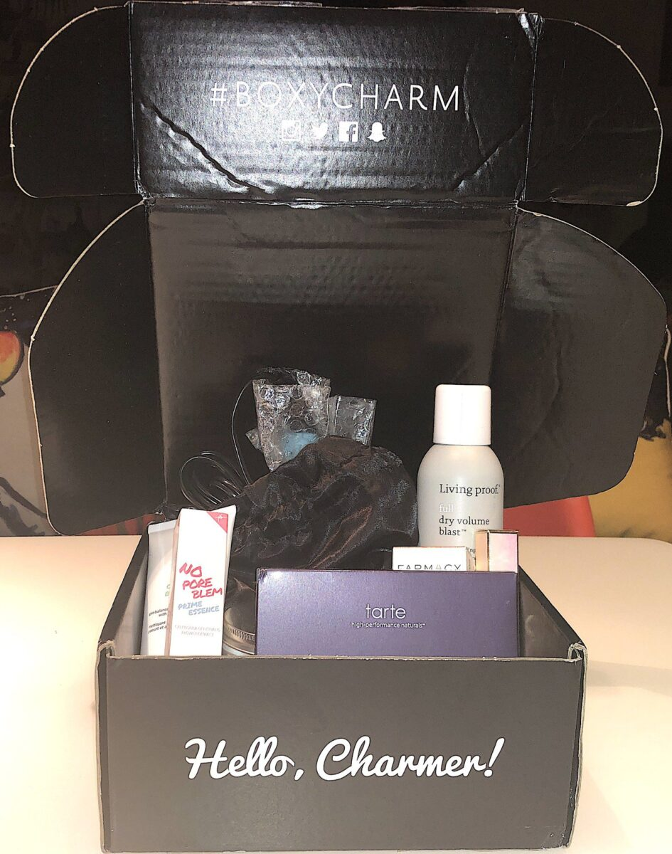 BOXY CHARM LUXE BOX JUNE 2019 OPENED