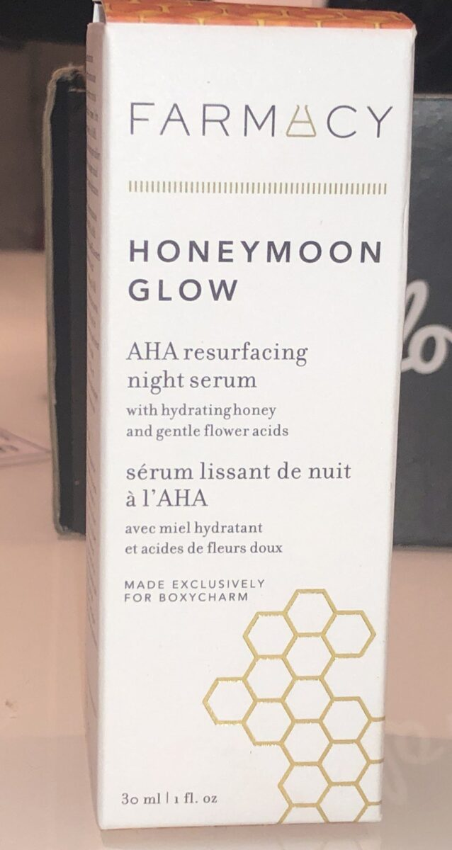 FARMACY HONEYMOON GLOW NIGHT SERUM . PACKAGING