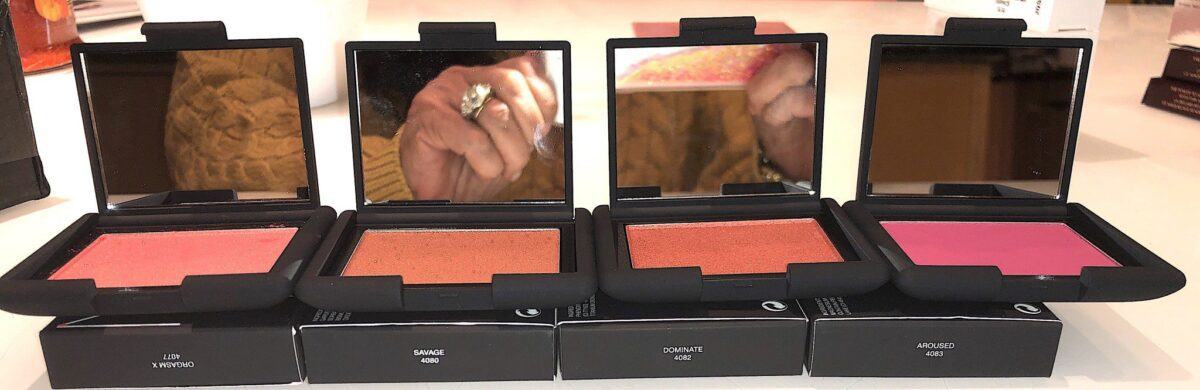 NARS ICONIC BLUSH TEN NEW COLORS - THESE ARE THE FOUR I PURCHASED