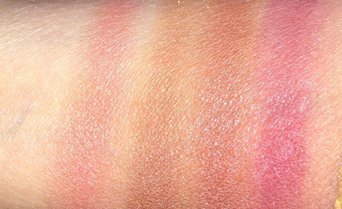 SWATCHES L TO R : ORGASM X, SAVAGE, DOMINATE, AND AROUSED