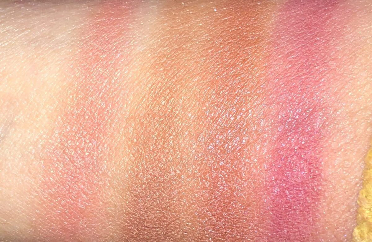 SWATCHES R TO LEFT: AROUSED, DOMINATE, SAVAGE, AND ORGASM X