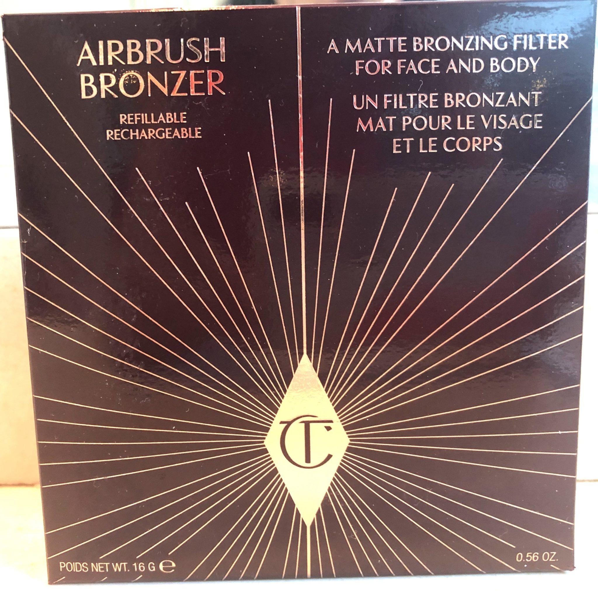 CHARLOTTE TILBURY AIRBRUSH BRONZER OUTER BOX