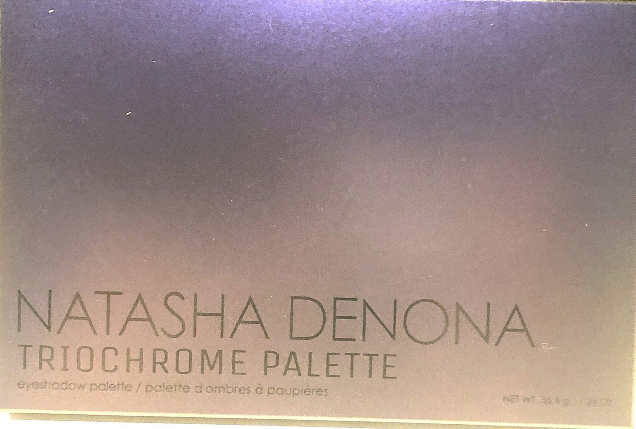NATASHA DENONA TRIOCHROME PALETTE OUTER BOX SHADE SHIFTED