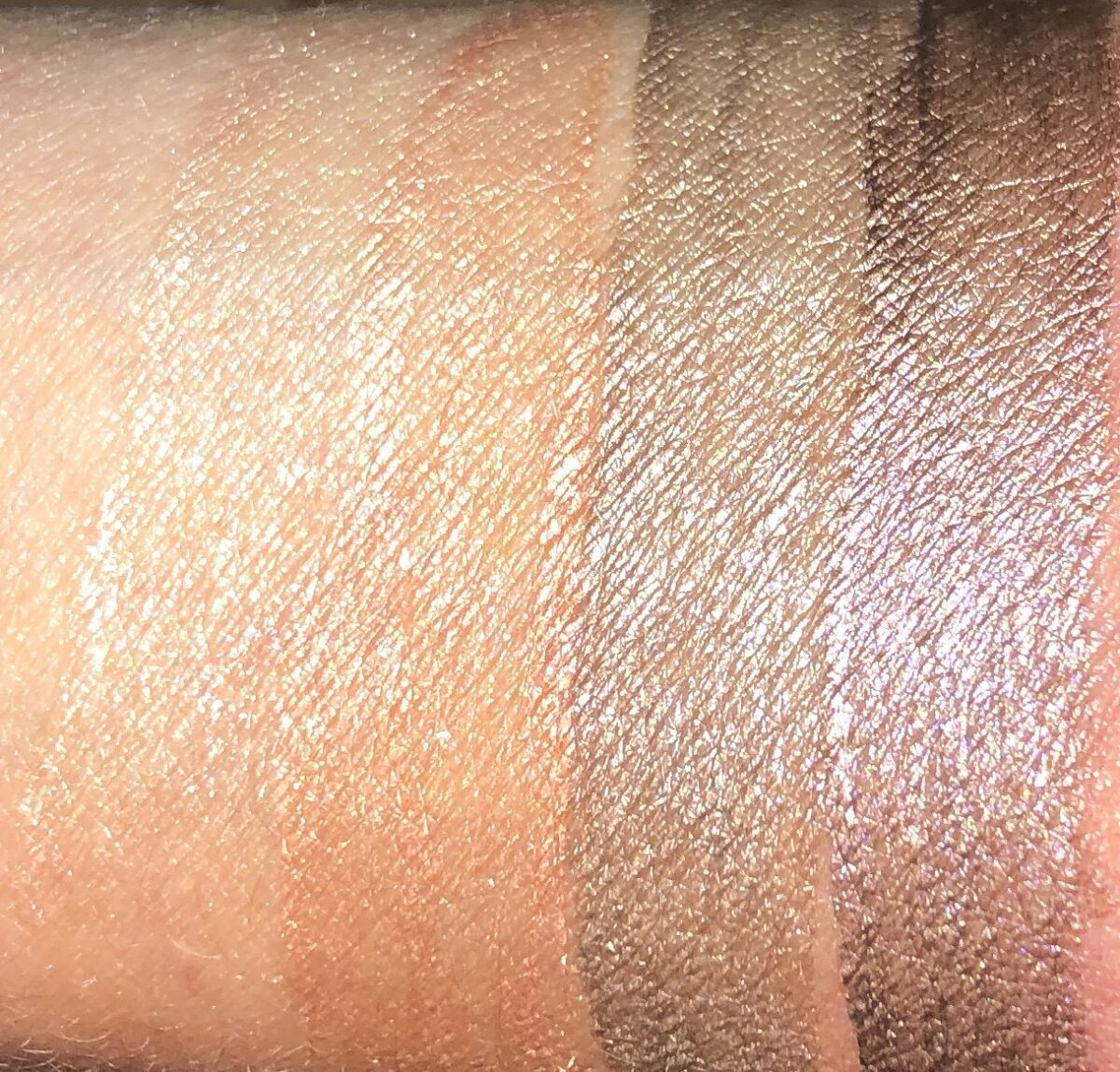 MORE SWATCHES L TO R:  RAYON, RISING SUN, DESERT WIND, AND VASTNESS