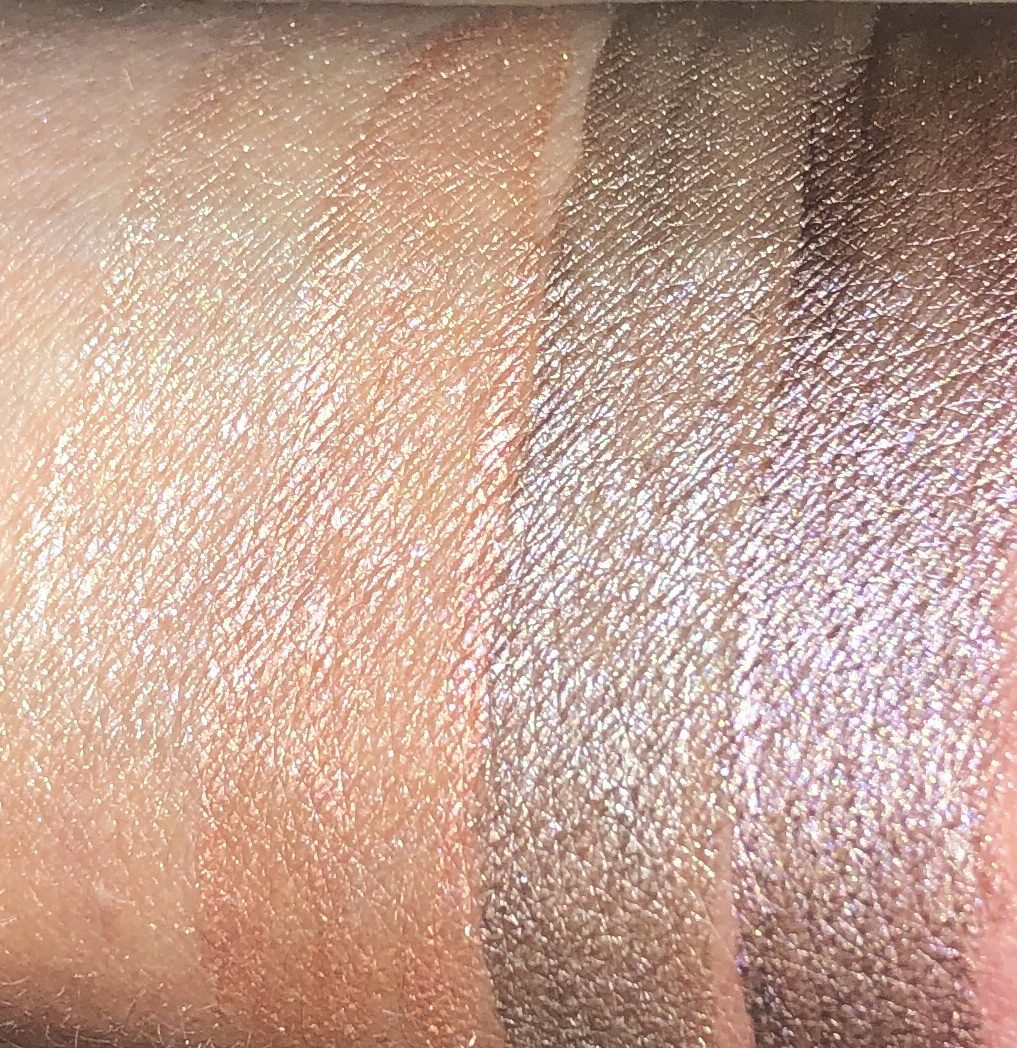 MORE SWATCHES, L TO R: RAON, RISING SUN, DESERT WIND, AND VASTNESS
