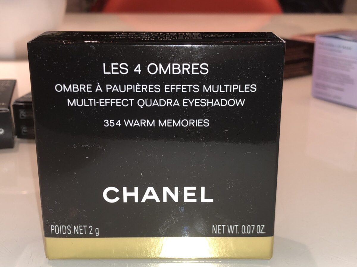 OUTER PACKAGING CHANEL WARM MEMORIES PART OF CHANEL MAKEUP SPRING/SUMMER 2020 PART 2