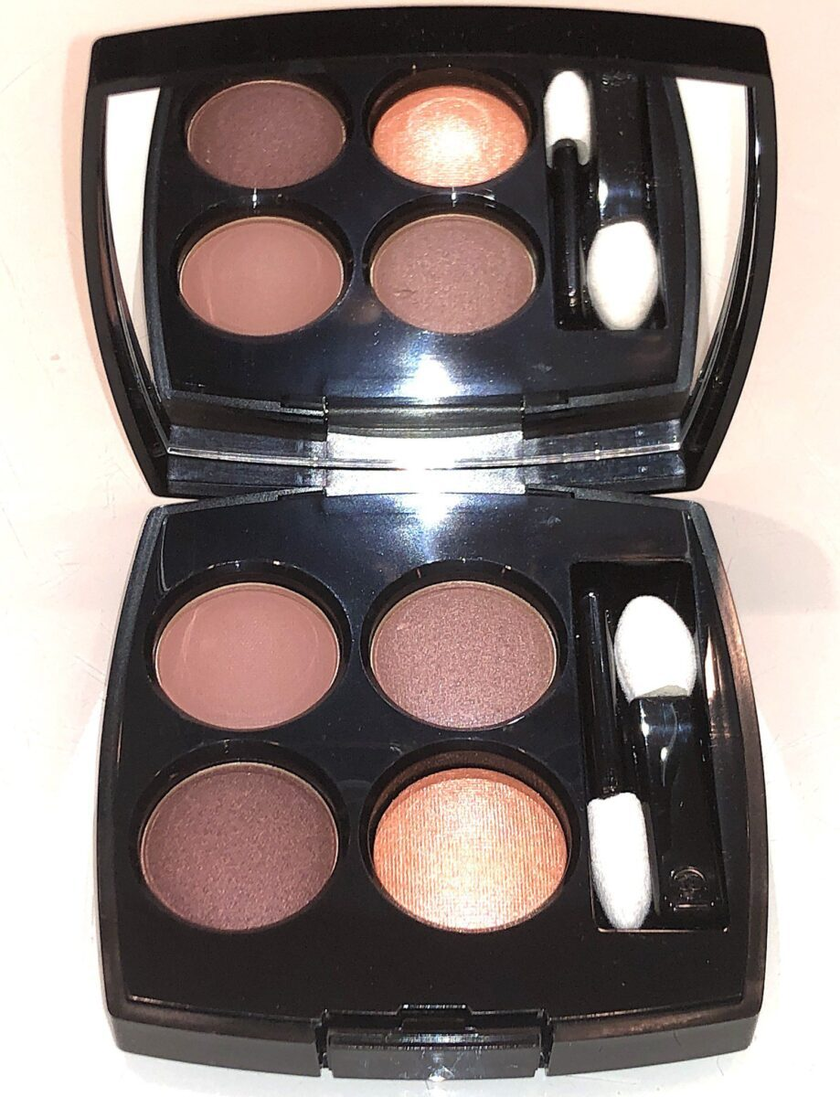 THE 354 WARM MEMORIES SHADES IN THE LES 4 OMBRES EYESHADOW PALETTE