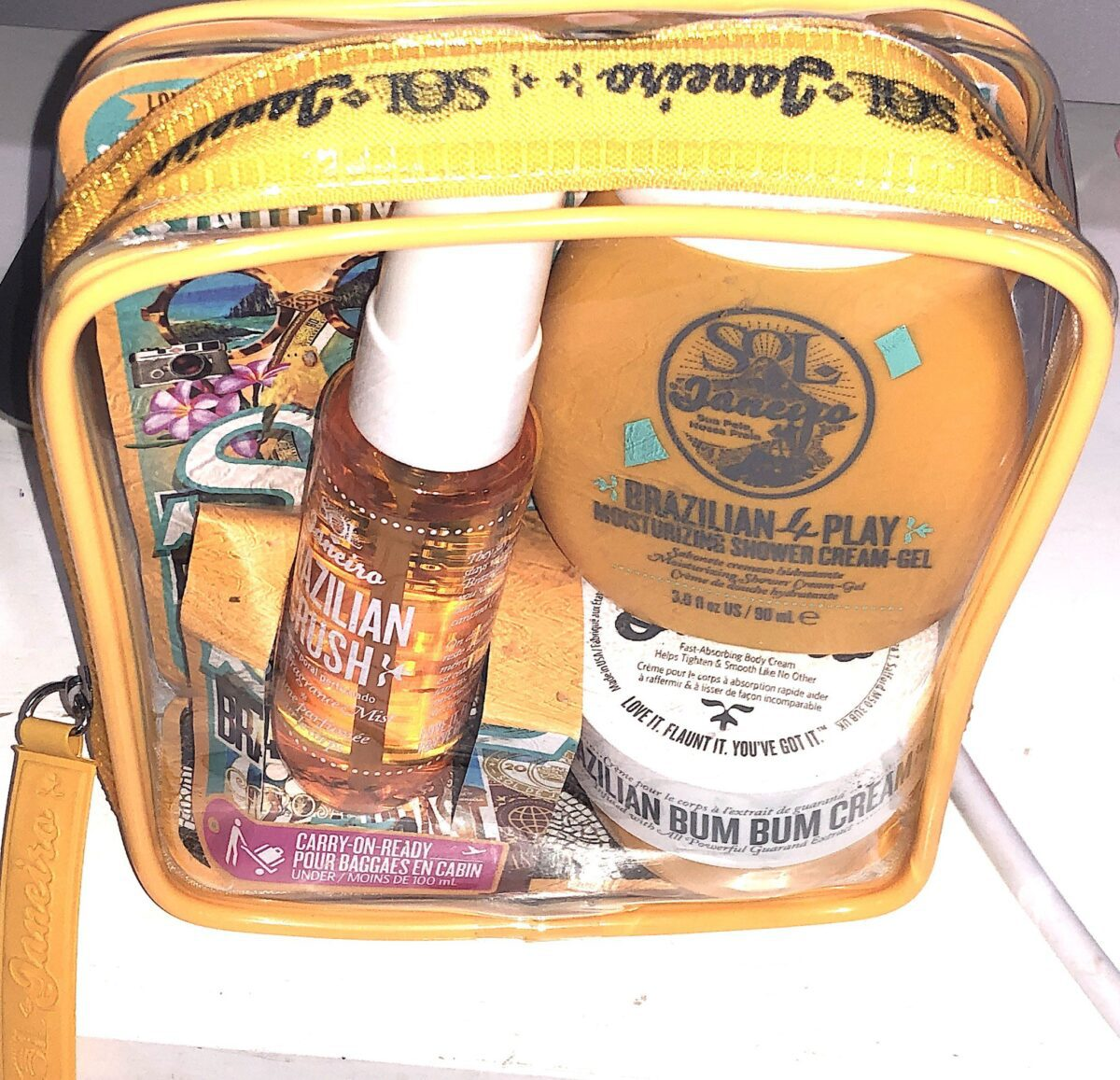 SOL JANEIRO MINI PRODUCTS BUM BUM JET SET BAG OF GOODIES