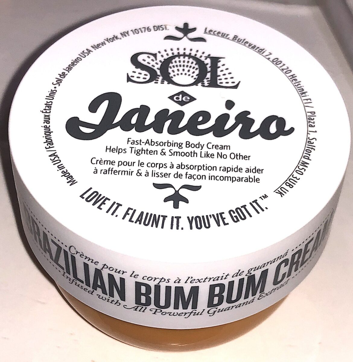 BRAZILIAN BUM BUM CREAM JAR