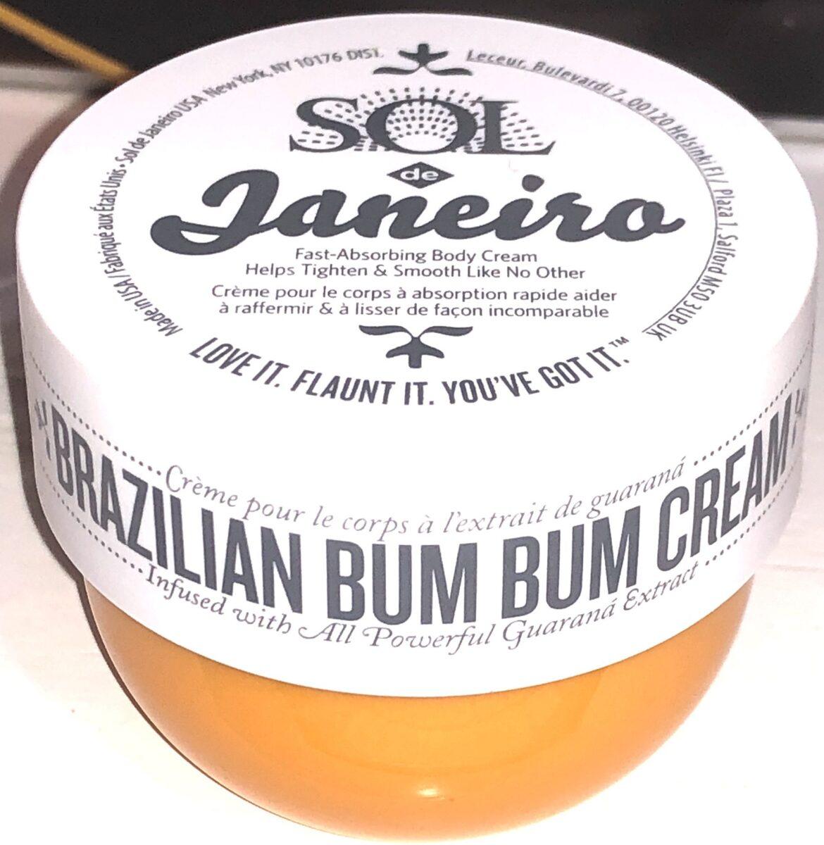 SOL JANEIRO BUM BUM CREAM JAR