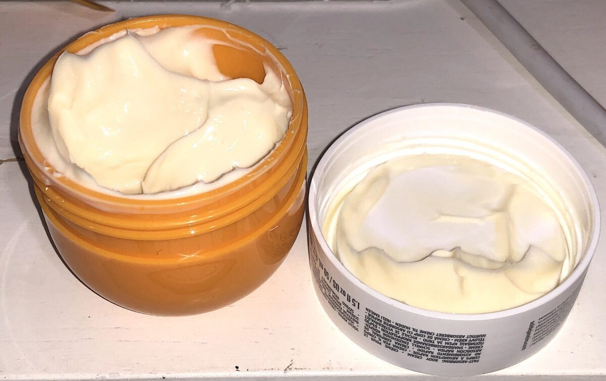BUM BUM CREAM JAR OPENED