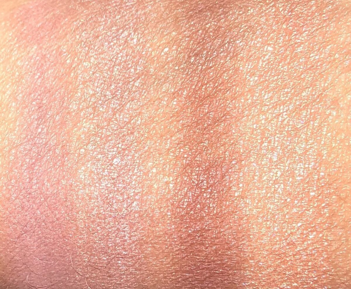 THE SWATCHES FOR THE CHANEL WARM WISHES LES 4 OMBRES EYESHADOW PALETTE 354