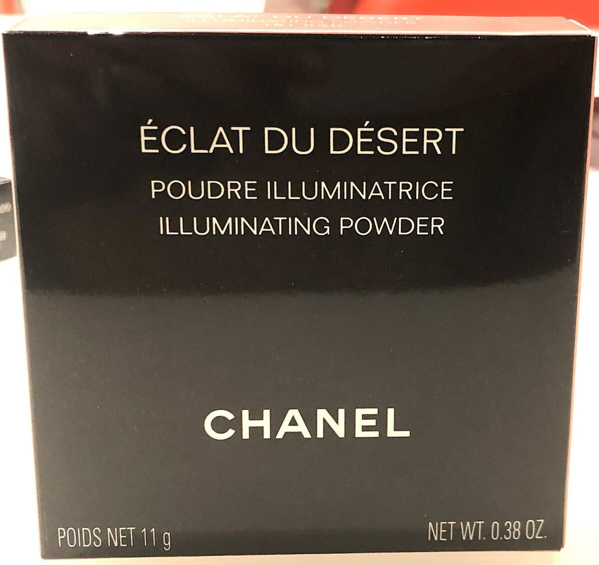 OUTER BOX FOR ECLAT DU DESERT ILLUMINATING POWDER