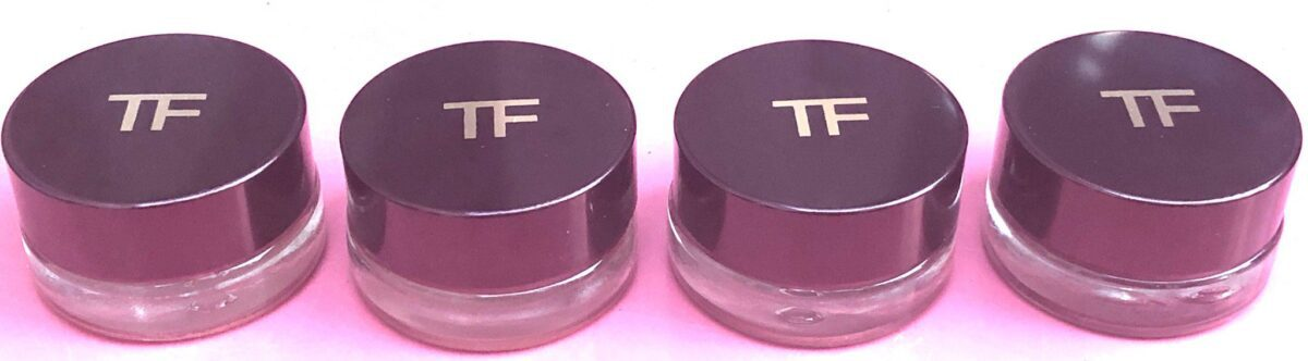 TOM FORD EMOTIONPROOF EYE COLOR HEAVY JAR WITH . TWIST OFF AND ON LID