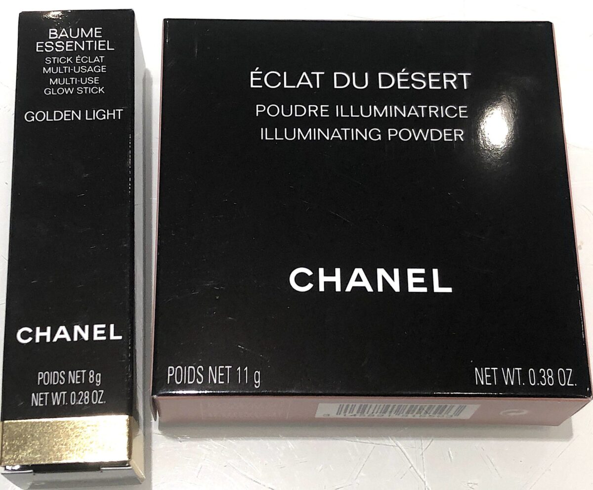 OUTER BOXES FOR THE CHANEL SPRING SUMMER 2020 HIGHLIGHTERS