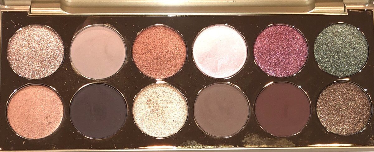 STILA AFTER HOURS EYE SHADOW PALETTE WITH THREE FINISHES