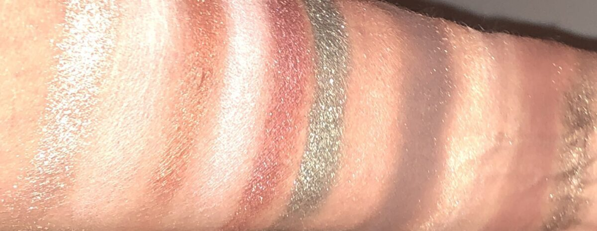 stila after hours eyeshadow palette all shades swatches
