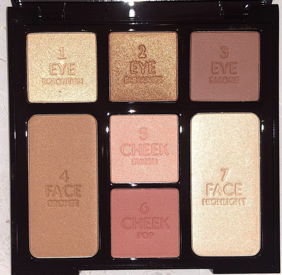 THE STONED ROSE INSTANT LOOK IN A FACE PALETTE SHADES
