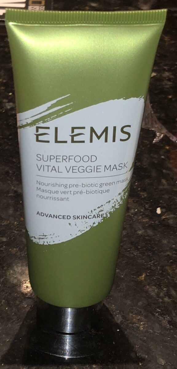 BOXY CHARM JULY 2019 BOX ELEMIS VEGGIE FACE MASK