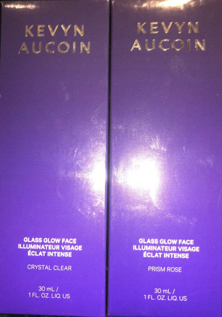 OUTER BOX FOR KEVYN AUCOIN GLASS GLOW FACE