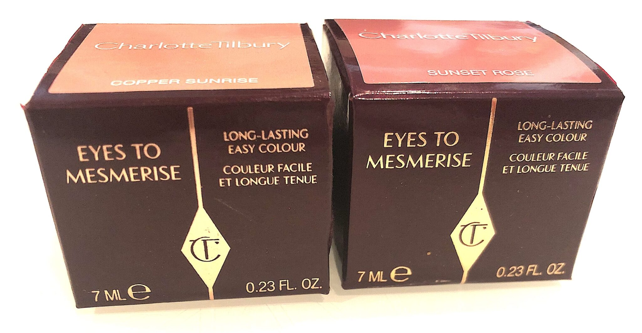 Charlotte Tilbury Cream Eyes To Mesmerize outer box