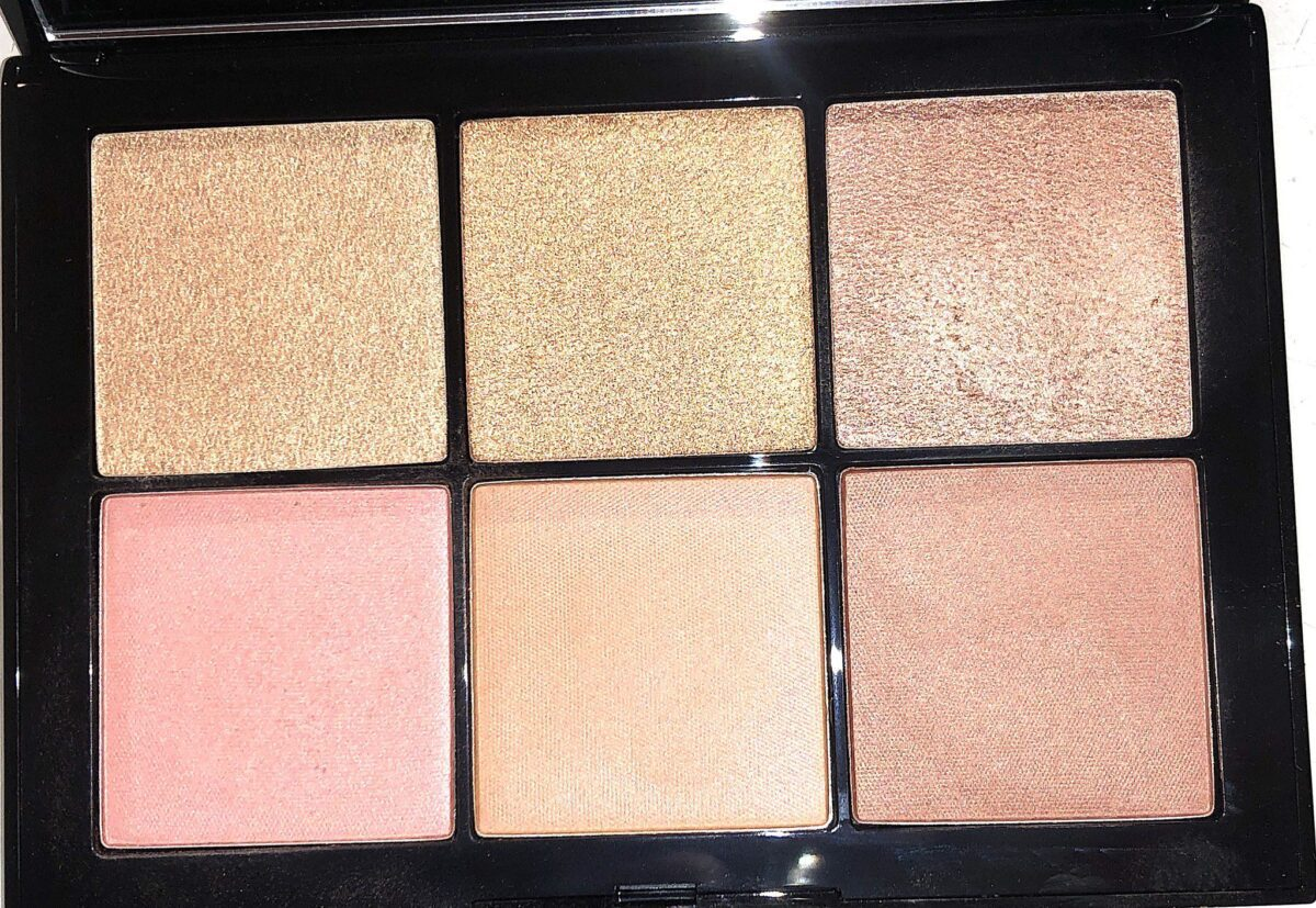 SHADES IN THE NARS OVERLUST CHEEK PALETTE