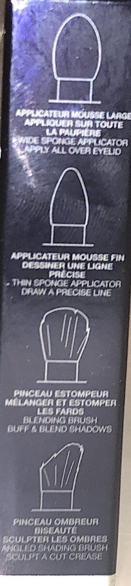 DIOR SUMMER DUNE COLLECTION DUAL-SIDED APPLICATOR DIRECTIONS FOUND ON THE SIDE OF THE BOX