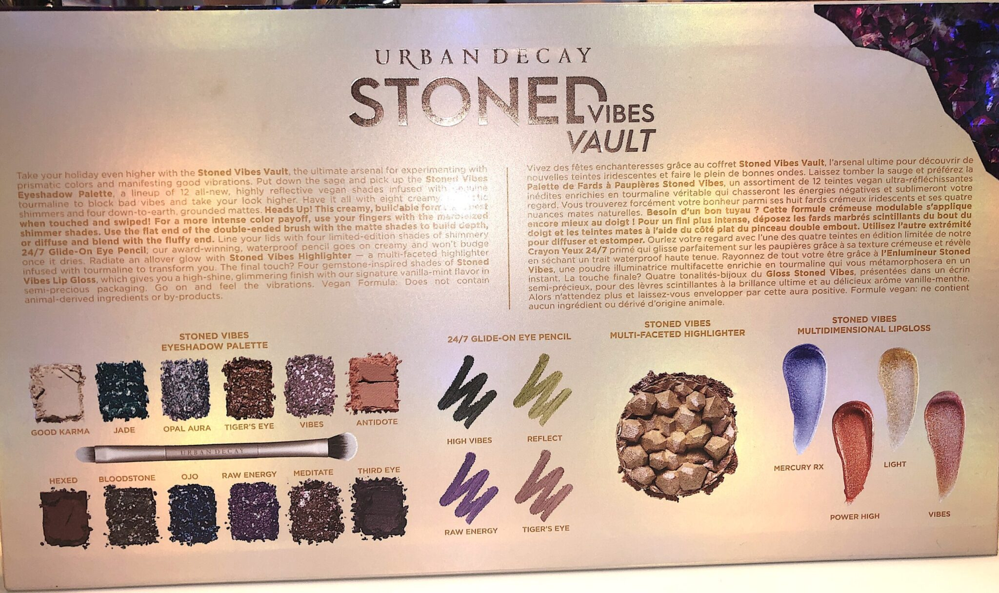 THE BACK OF THE STONED VIBES VAULT GIFT SET BOX