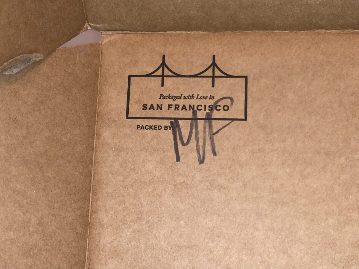UNBOXING LUCKY BAG 2020, INSIDE THE BOX