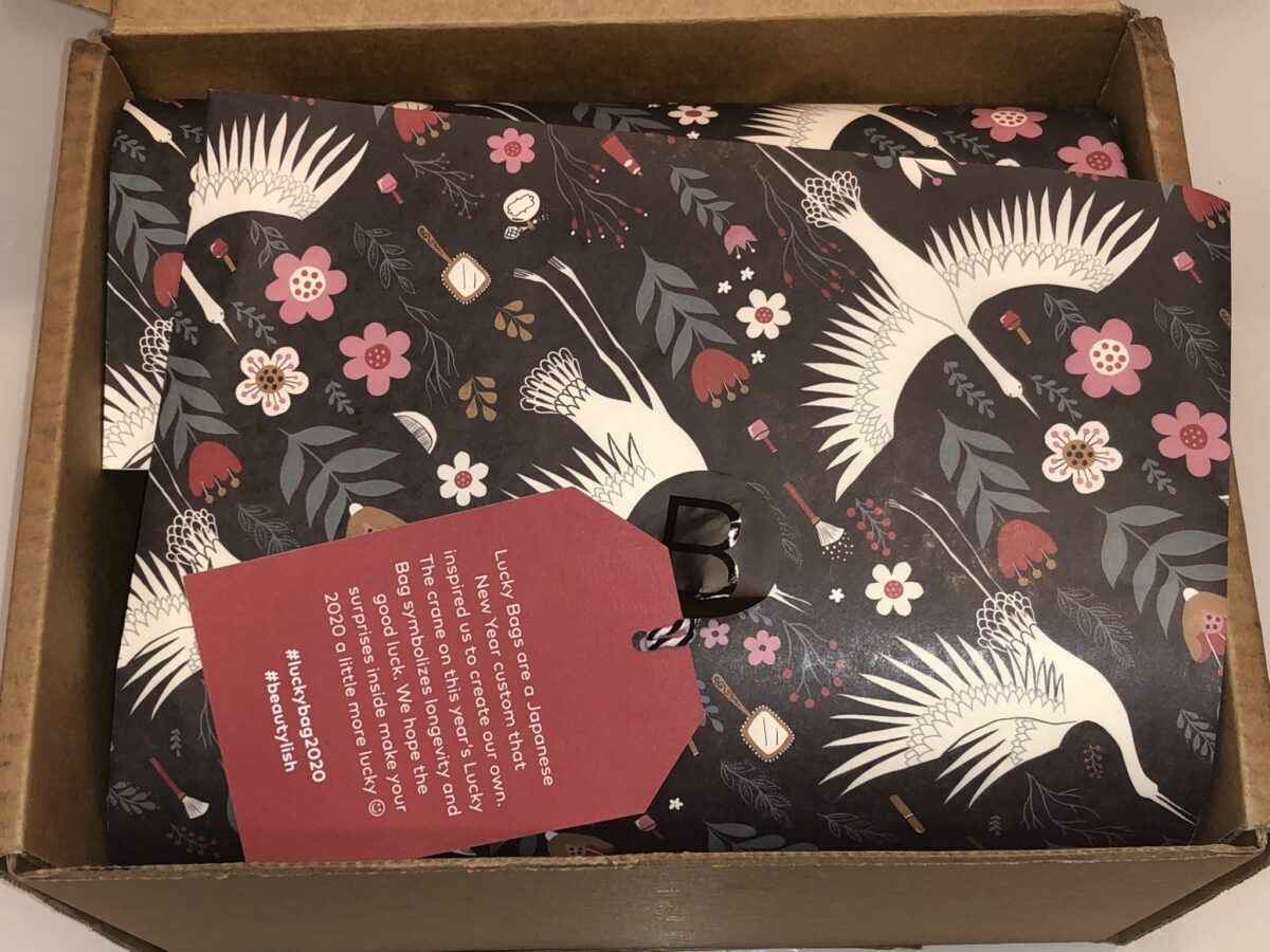 UNBOXING LUCKY BAG 2020-INSIDE THE BOX