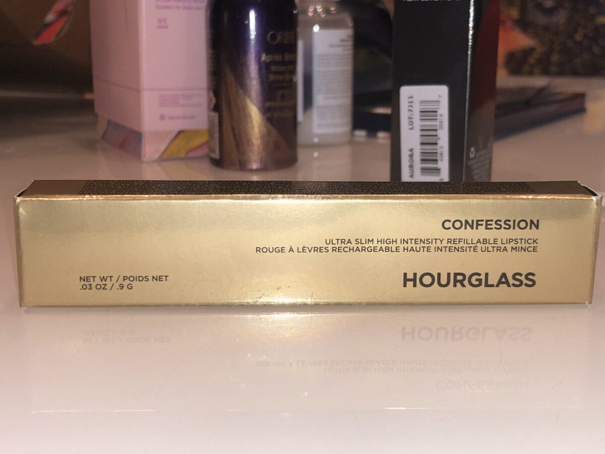 Unboxing Lucky Bag 2020 Item #2 - The Hourglass Confession Ultra Slim High Intensity Refillable Lipstick