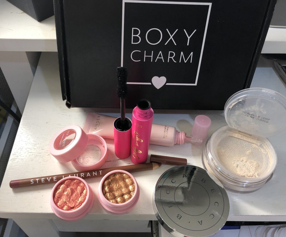 PRODUCTS IN BOXY CHARM AUGUST 2019 SUBSCRIPTION BOX