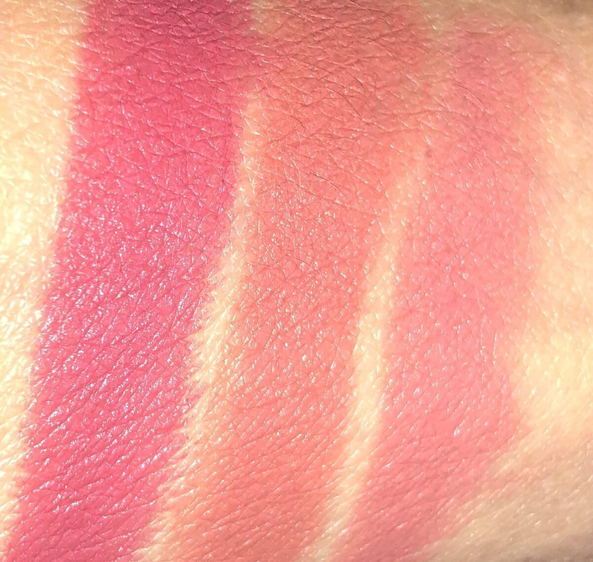 SWATCHES L TO R: FIRST DANCE, MRS. KISSES, WEDDING BELLS