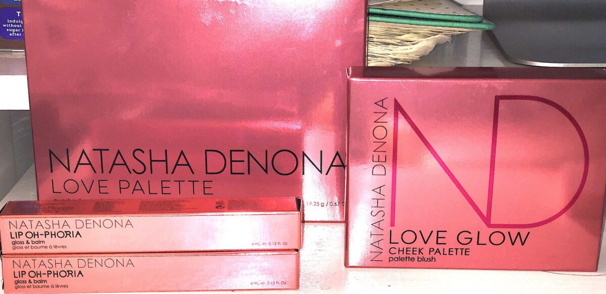 THE OUTER BOXES FOR THE NATASHA DENONA LOVE STORY COLLECTION