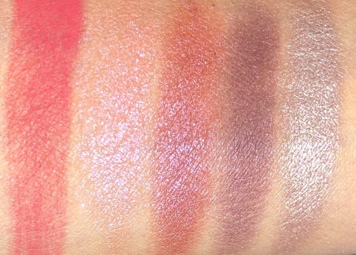 ROW 2 SWATCHES ACROSS: HEART, GIVING, PURE LOVE, COMMITMENT, AND BLIND