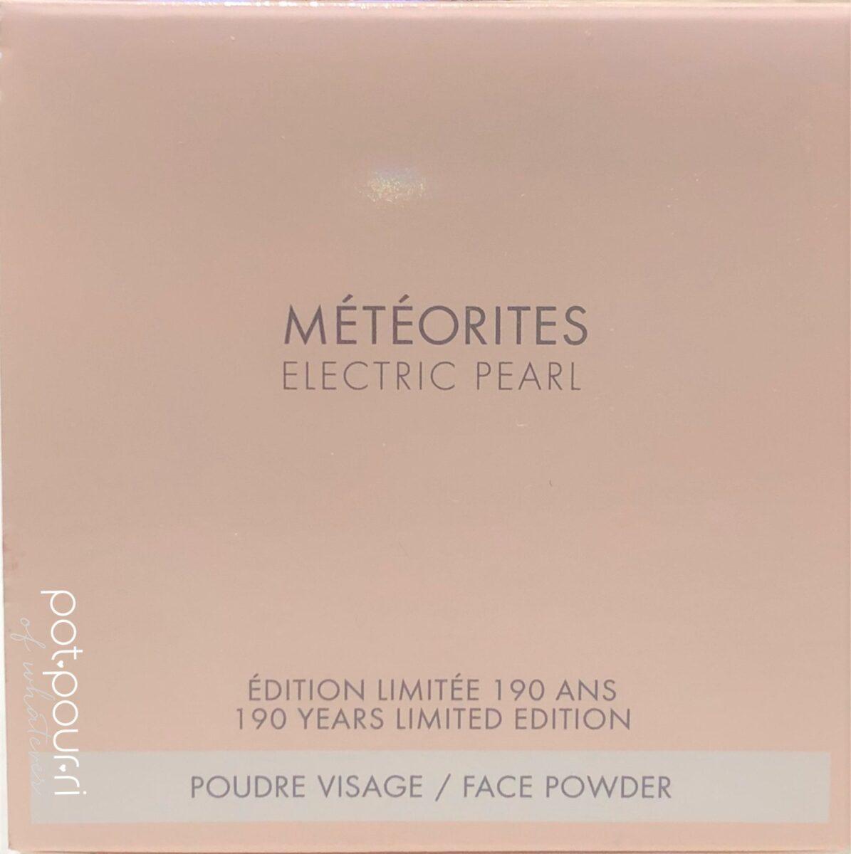 GUERLAIN METEORITES ELECTRIC PEARL BOX