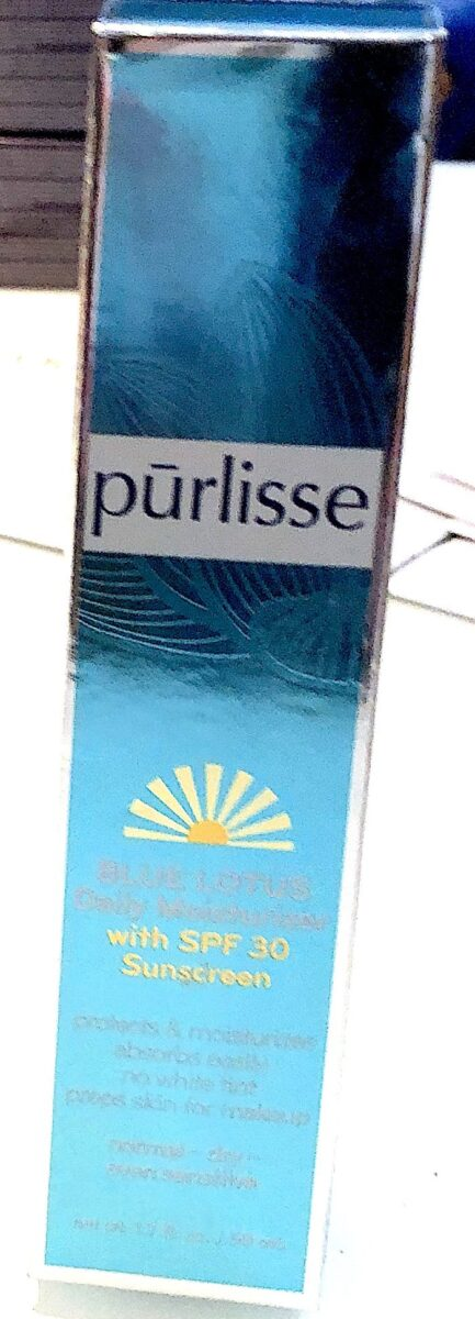OUTER BOX FOR PURLISSE MOISTURIZER