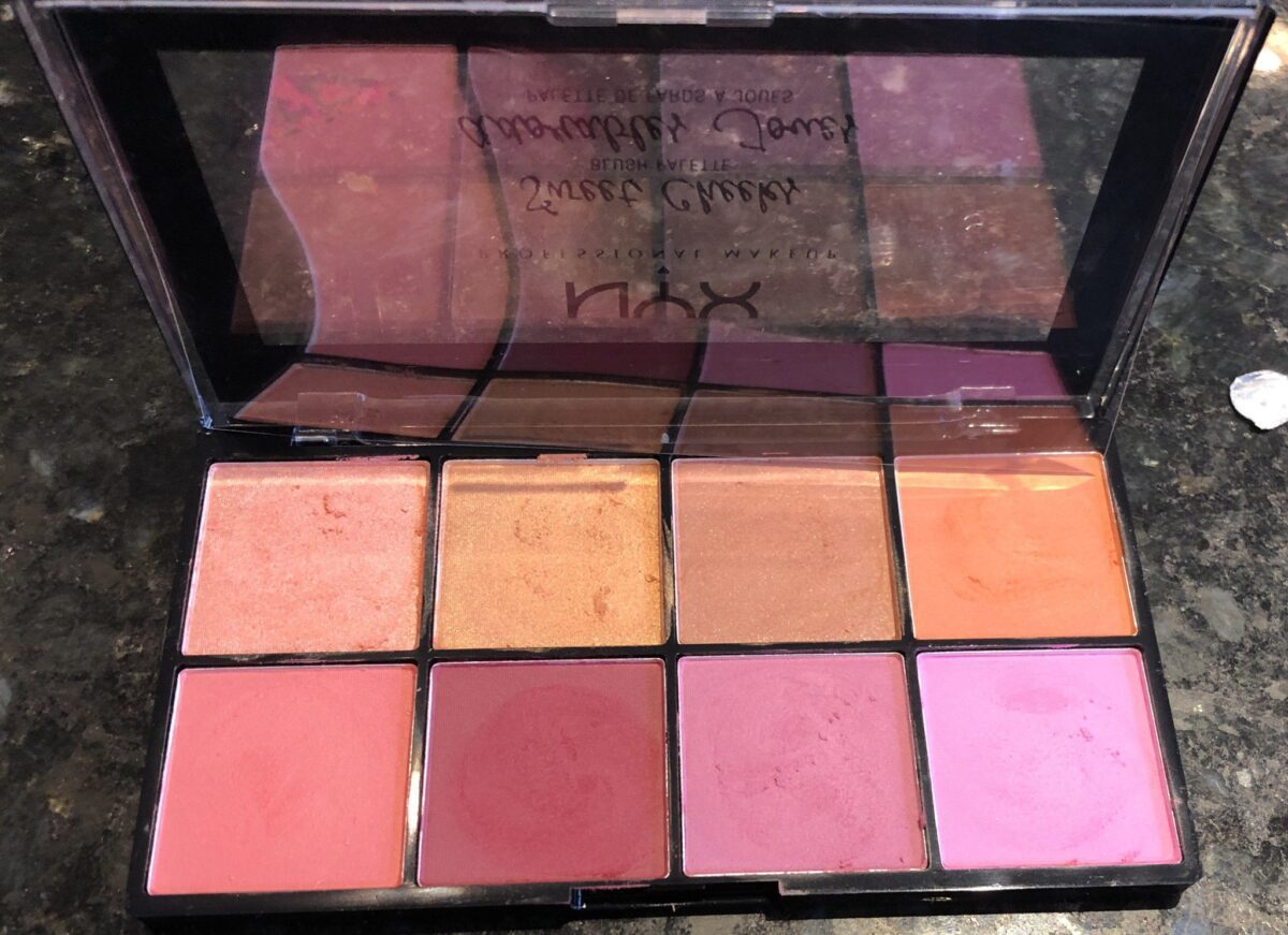 THE SWEET CHEEKS PALETTE SHADES