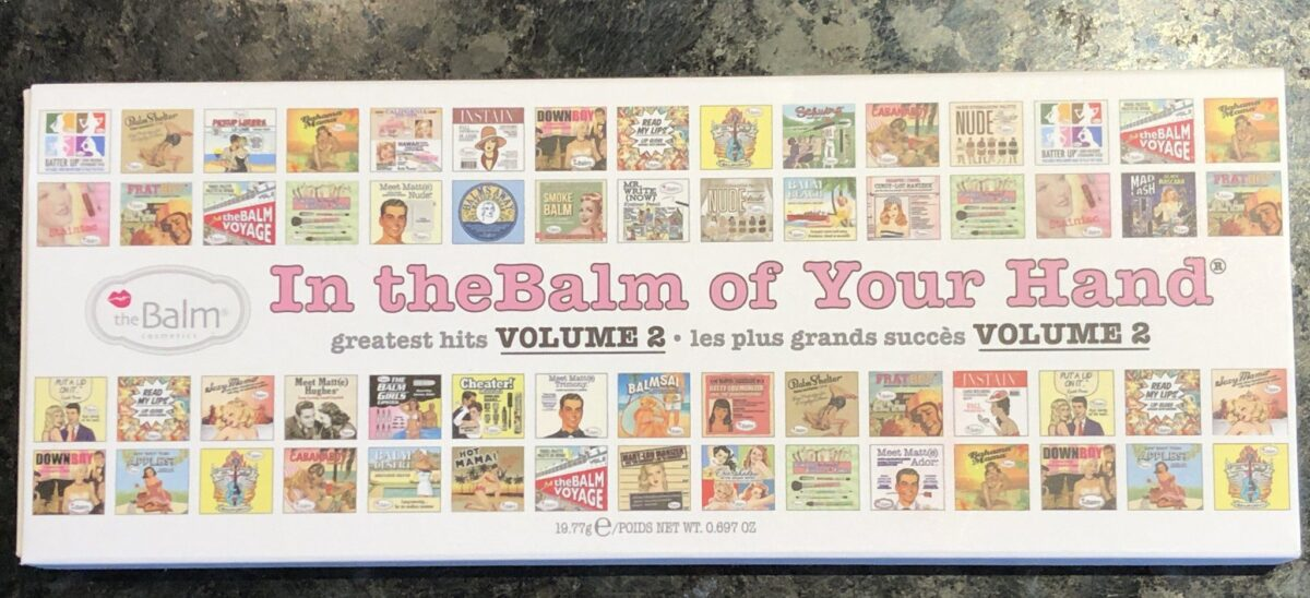 IN THE BALM OF YOUR HANDS OUTER BOX