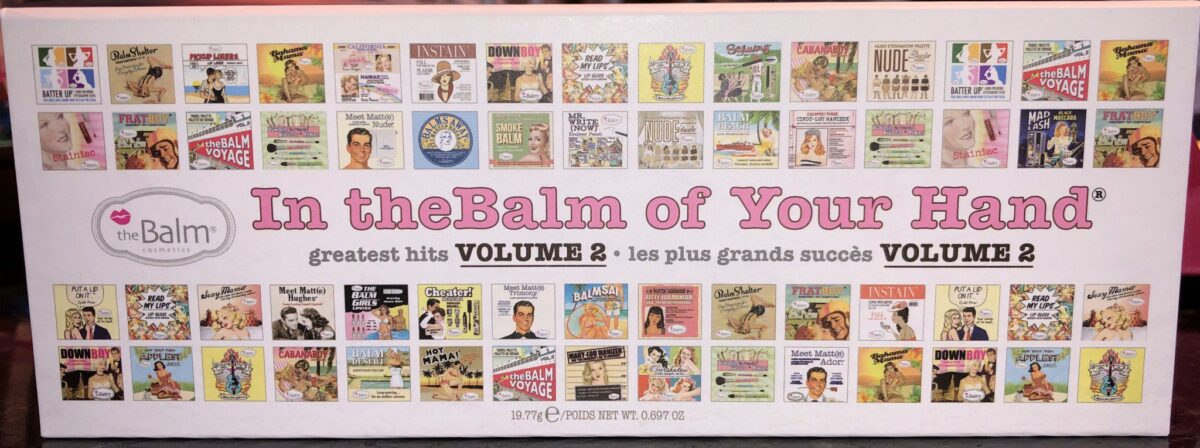 THE BALM VOLUME 2 GREATEST HITS PALETTE