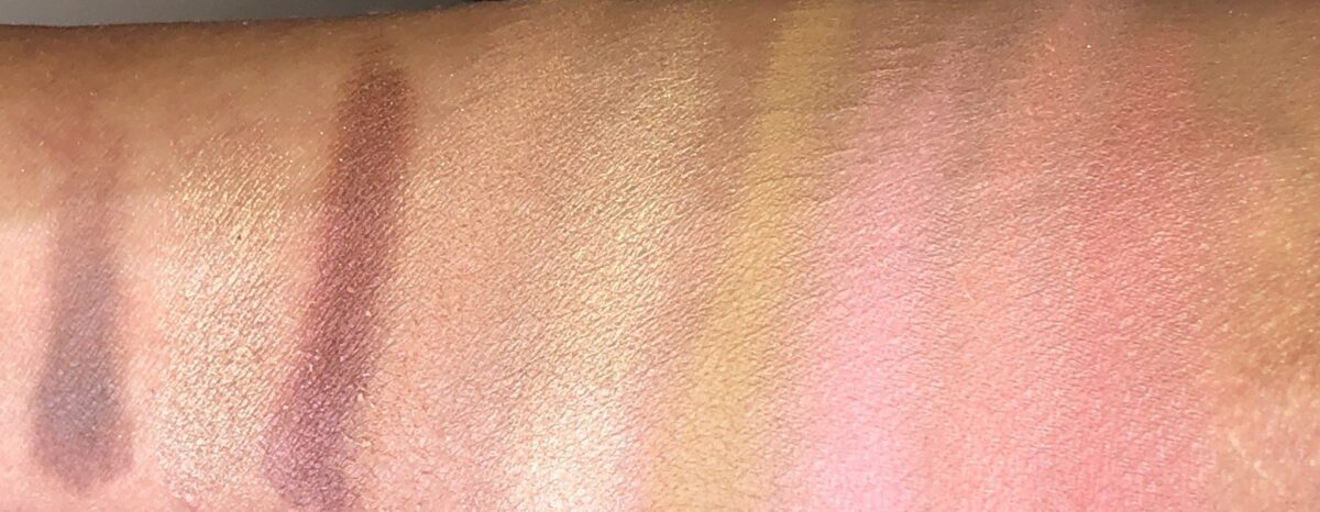 THEBALM SWATCHES FOR IN THE BALM OF YOUR HAND GREATEST HITS VOLUME 2