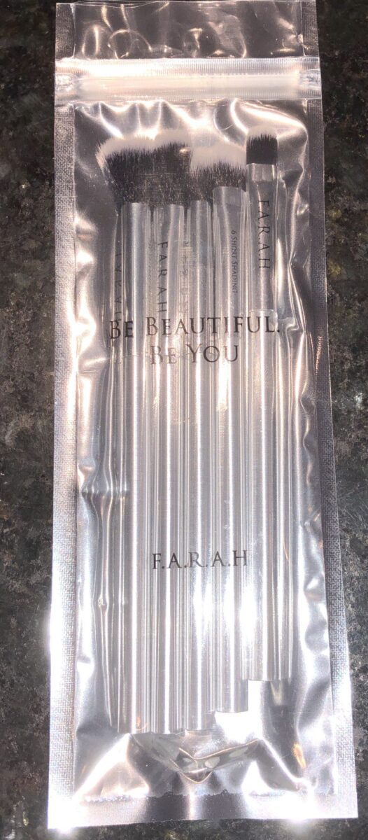F.A.R.A.H. BRUSHES 5-PIECE EYE PERFECTION SET