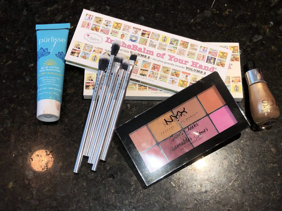 IPSY GLAM BAG PLUS AUGUST 2019 BOX PRODUCTS
