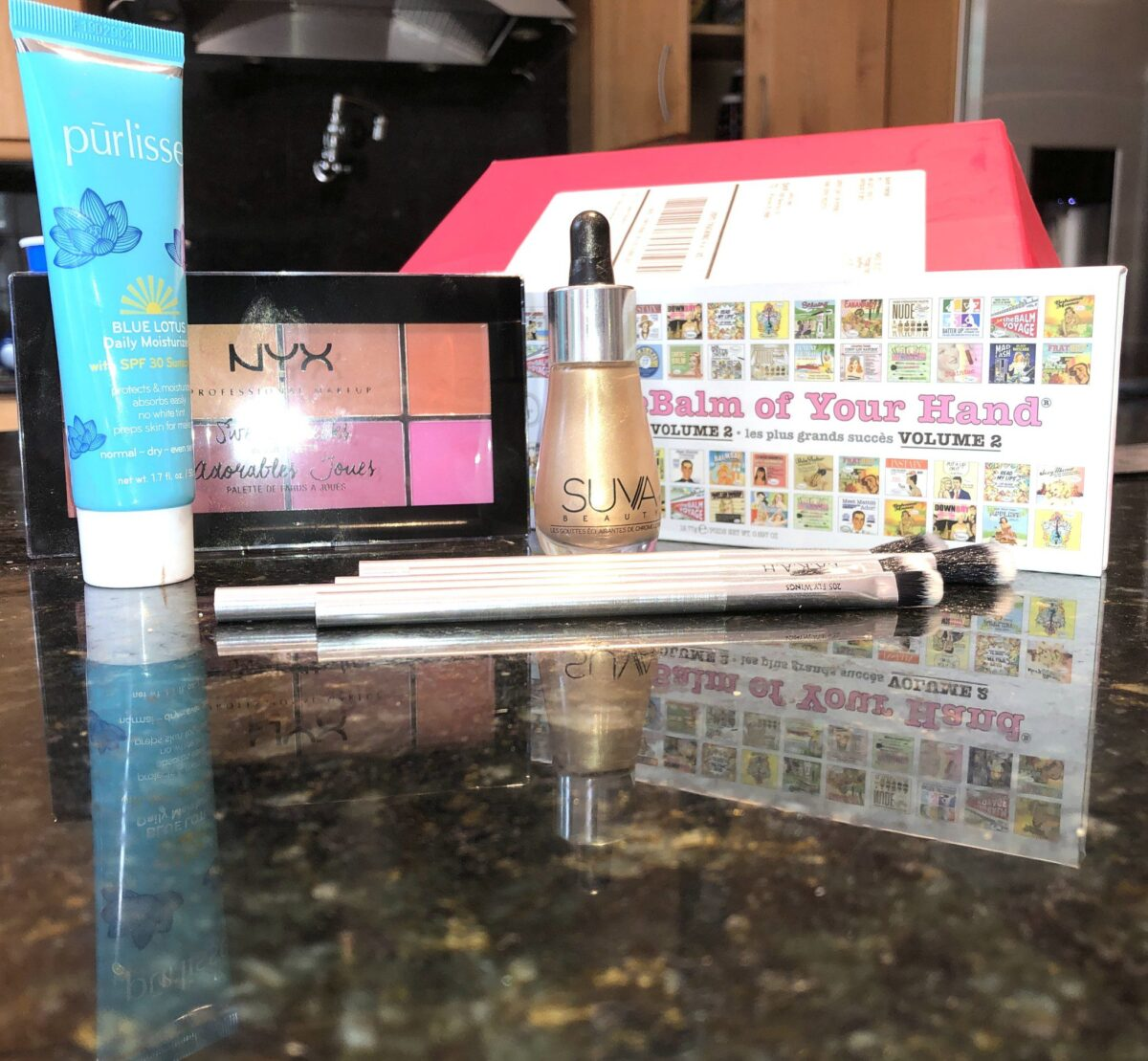 THE PRODUCTS IN THE IPSY GLAM BAG PLUS AUGUST 2019 BOX