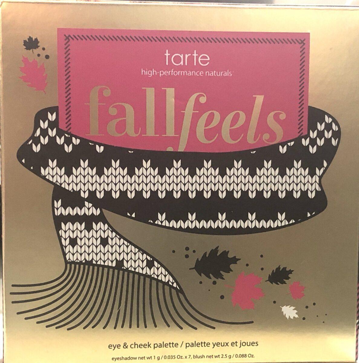 TARTE FALL FEELS OUTER BOX