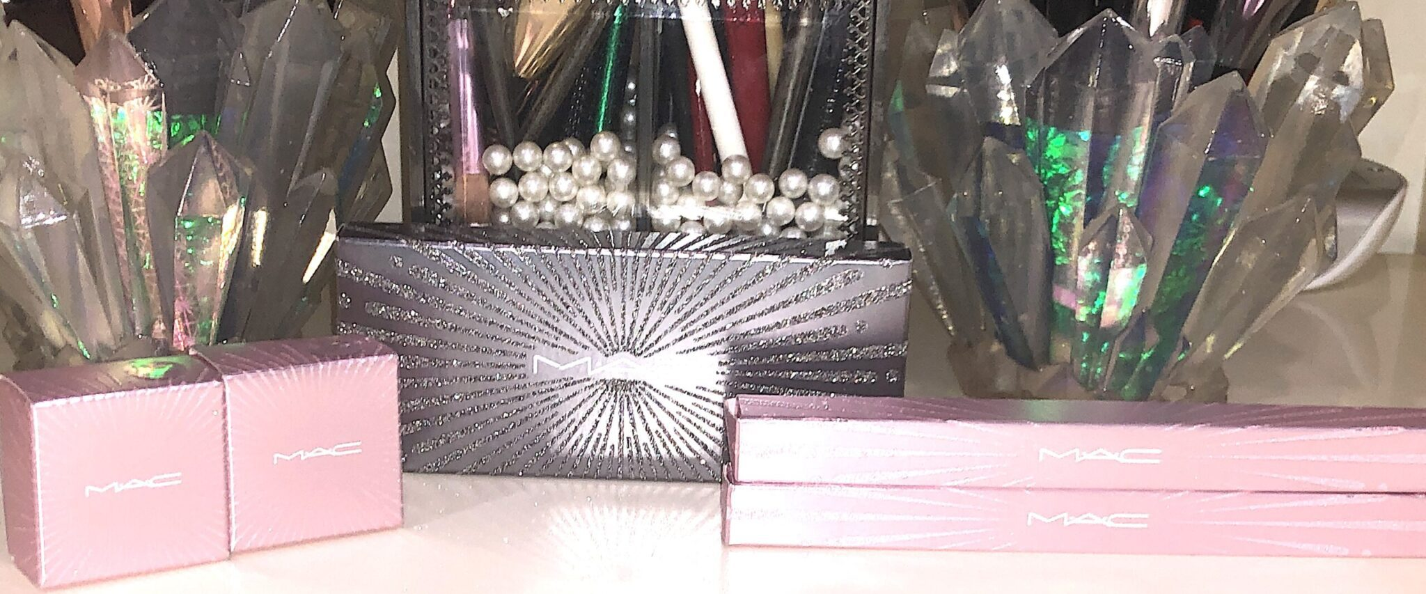 Mac Frosted Firework Collection Holiday 2020 packaging