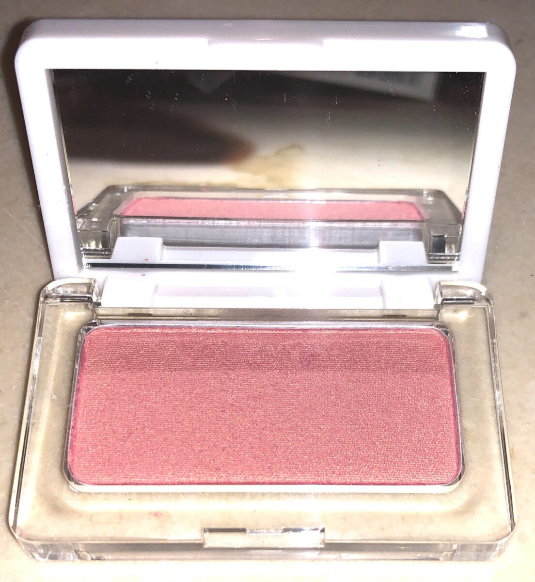 OPENED RMS BEAUTY PRESSED POWDER BLUSH COMPACT
