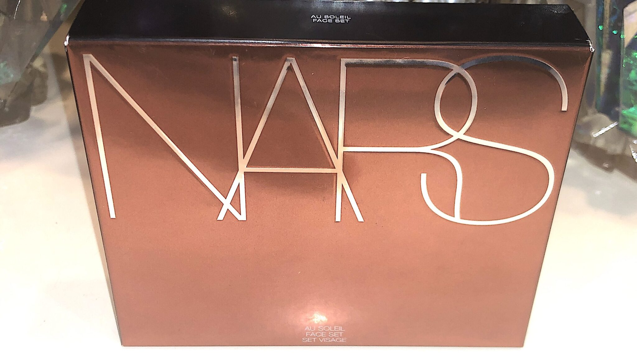 NARS AU SOLEIL FACE SET OUTERPACKAGING