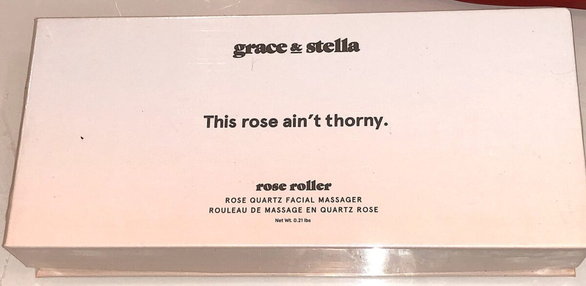 the outer box for the rose roller